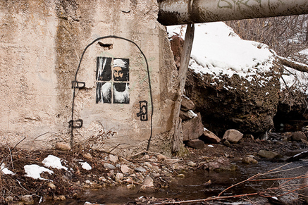 Banksy_locates_Osama_City_Creek