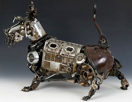 robert l peters assemblage art driven to a new level