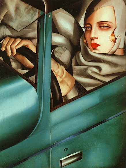 Lempicka_Self-Portrait_in_the_Green_Bugatti