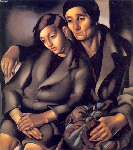 Lempicka_The_Refugees_1931